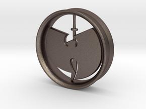 WuTang Ear Rim in Polished Bronzed Silver Steel