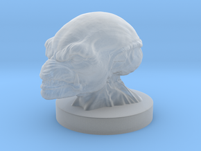 PumpkinHead Bust in Smooth Fine Detail Plastic