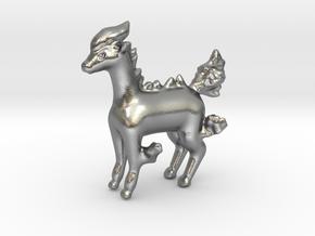 Ponyta in Natural Silver