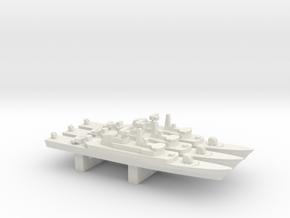 Alvand-class frigate (w/ C-802 AShM) x 3, 1/2400 in White Natural Versatile Plastic