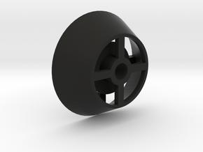 Roll Holder Filament in Black Natural Versatile Plastic