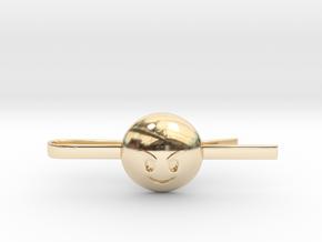 Evil Tie Clip in 14k Gold Plated Brass