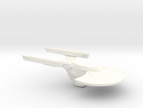 USS Hornet MkIII Torpedo Destroyer in White Processed Versatile Plastic