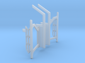 HO R40 Subway End Gates 03 in Frosted Ultra Detail
