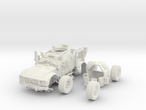 1/72 MATV (Open) Includes Turret and wheels in White Natural Versatile Plastic