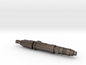 The Master's Laser Screwdriver Pendant in Polished Bronzed Silver Steel