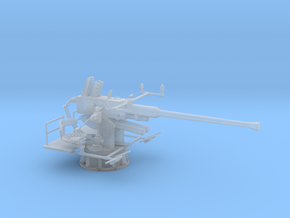 1/48 USN Single 40mm Bofors in Smooth Fine Detail Plastic: 1:48