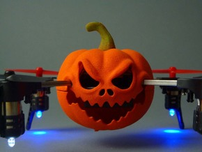 Halloween case for Micro Drone 3.0 in Orange Processed Versatile Plastic