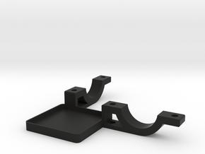 Handheld Stick Mount Bottom in Black Strong & Flexible