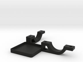Handheld Stick Mount Bottom in Black Natural Versatile Plastic