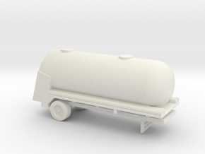 1/200 Scale M-388 Alcohol Tank Trailer in White Natural Versatile Plastic