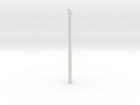 Solid State Holder -- Rod in White Strong & Flexible