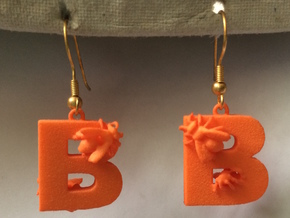 B Is For Bees in Orange Processed Versatile Plastic