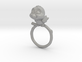 Bird Pet Ring - 18.89mm - US Size 9 in Aluminum