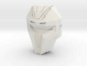 WFC Decepticon Heavy/Brute Face (Titans Return) in White Strong & Flexible