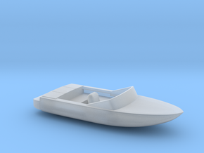 Pleasure Boat - 1:120scale in Frosted Ultra Detail