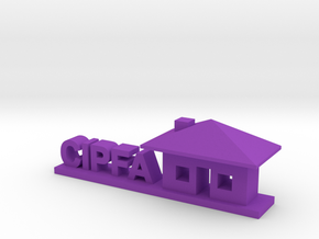 CIPFA Logo in Purple Processed Versatile Plastic