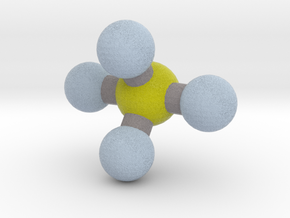 Sulfur Tetrafluoride (SF4) in Full Color Sandstone