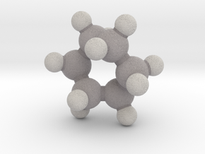 Cyclohexane (twist-boat) in Full Color Sandstone