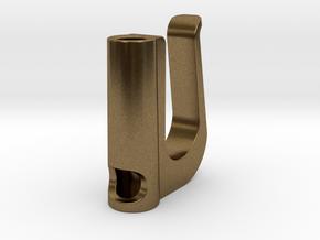 Ecig Clip in Natural Bronze