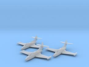 Grumman F9F-2 'Panther' 1:200 x3 FUD in Smooth Fine Detail Plastic
