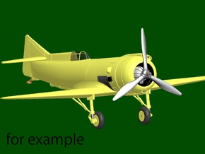 Marcoux-Bromberg Special (1939), scale 1/144 in Smoothest Fine Detail Plastic
