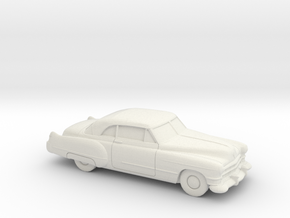 1/87 1949-52 Cadillac Series 62 Coupe in White Strong & Flexible