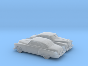 1/160 2X 1949-52  Cadillac Series 62  Coupe in Smooth Fine Detail Plastic