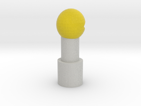 Pac-Man Pencil Topper in Full Color Sandstone