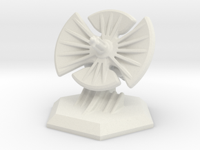6mm Scale Radar - Objective Marker in White Strong & Flexible