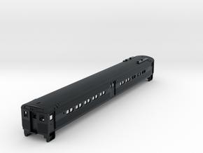 N Scale Arrow I MU Commuter Body Shell in Black Hi-Def Acrylate