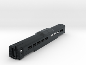 N Scale 'Roger Williams' RDC MidTrain Car in Black Hi-Def Acrylate