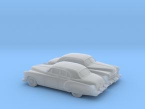 1/160 2X 1949-52 Cadillac Series 62 Sedan in Smooth Fine Detail Plastic