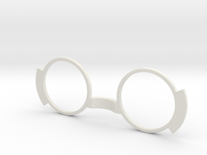 VRProtect Lens 43mm Version in White Natural Versatile Plastic