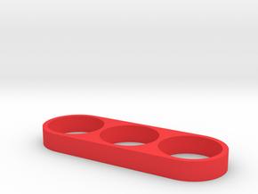 FIDGET HAND SPINNER in Red Processed Versatile Plastic