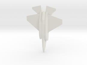 1/144 F-35D in White Natural Versatile Plastic