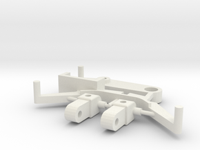 SP1 Spare Parts for CK1 Chassis Kit in White Strong & Flexible