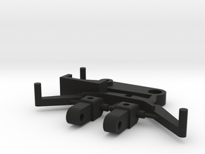 SP1 Spare Parts for CK1 Chassis Kit in Black Natural Versatile Plastic
