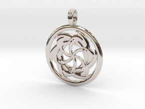 LUNAR MYSTIC in Rhodium Plated