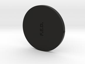 FED Lid Sep2016 in Black Natural Versatile Plastic