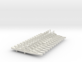 "Cleveland CLG ""plan"" set, 13pc, 1/3000 in White Natural Versatile Plastic"