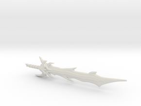 Dark Star Saber, 5mm in White Natural Versatile Plastic