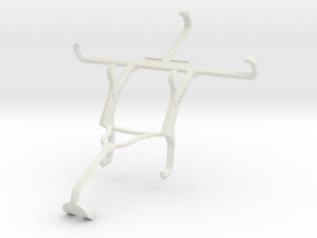 Controller mount for Xbox 360 & Celkon A402 in White Natural Versatile Plastic