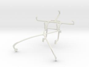 Controller mount for Shield 2015 & Celkon A402 in White Natural Versatile Plastic