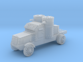 Peerless Armoured Car (6mm) in Smooth Fine Detail Plastic
