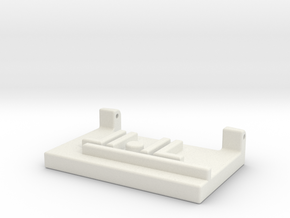 Left Shoulder Fortress Maximus Ramp Adapter in White Strong & Flexible