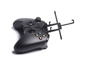 Xbox One controller & HTC Desire 825 - Front Rider in Black Strong & Flexible