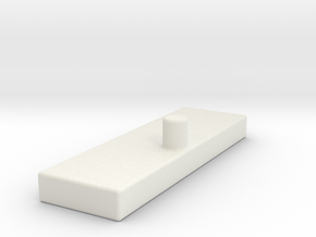 Fort Max G1 Ramp Stabilizer in White Natural Versatile Plastic