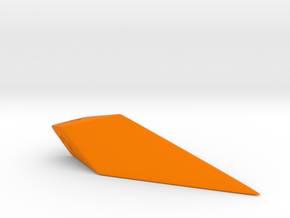 d3 kite die in Orange Strong & Flexible Polished