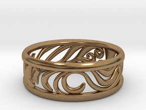 Tom's Ring in Natural Brass